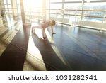 interpreter doing press...   Shutterstock . vector #1031282941