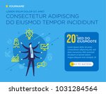 businessman development startup | Shutterstock .eps vector #1031284564