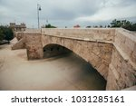 one of the bridge in valencia | Shutterstock . vector #1031285161