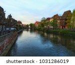 strasbourg city view | Shutterstock . vector #1031286019