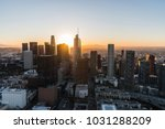 sunrise aerial view downtown... | Shutterstock . vector #1031288209