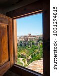 cuenca city of spain | Shutterstock . vector #1031294815