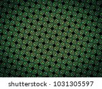 a hand drawing pattern made of... | Shutterstock . vector #1031305597