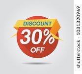 discount sale up to 30  off... | Shutterstock .eps vector #1031320969