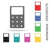 calculator icon. elements in...