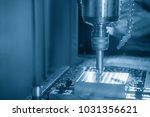 The Cnc Milling Machine Cuttin...