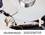 mechanism of internal 3.5 inch... | Shutterstock . vector #1031356735