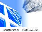 skyscraper architecture 3d...   Shutterstock . vector #1031363851