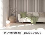 idea of white minimalist room... | Shutterstock . vector #1031364079