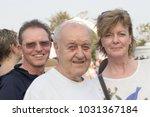 retirement european man with... | Shutterstock . vector #1031367184