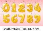 vector birthday balloon in the... | Shutterstock .eps vector #1031376721
