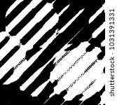 black and white grunge stripe... | Shutterstock .eps vector #1031391331