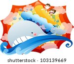 exiting summer vacation and... | Shutterstock .eps vector #103139669