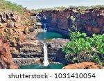 Remote Cascading Mitchell Falls Kimberly Region in North West Western Australia