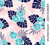 seamless vector pattern of... | Shutterstock .eps vector #1031418685