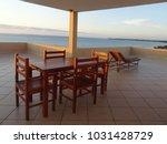 ocean view from balcony   Shutterstock . vector #1031428729