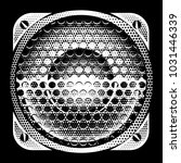 stylish vector monochrome... | Shutterstock .eps vector #1031446339