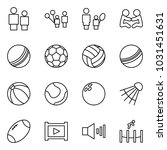 flat vector icon set   man and... | Shutterstock .eps vector #1031451631