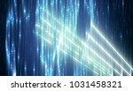 abstract vertical blue... | Shutterstock . vector #1031458321
