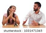 beautiful couple saving money...   Shutterstock . vector #1031471365