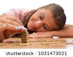 young brunette women collecting ...   Shutterstock . vector #1031473021