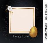 Gold Easter Egg  Frame  Black...