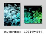 light blue  greenvector banner...