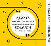 vectors quote.  always  forgive ...   Shutterstock .eps vector #1031495845
