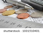 financial background with money ...   Shutterstock . vector #1031510401
