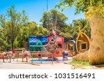 seville  es   july 28  2017 ... | Shutterstock . vector #1031516491