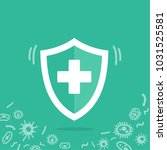 reliable protection from germs. ... | Shutterstock .eps vector #1031525581
