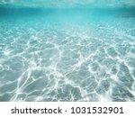 abstract underwater view ... | Shutterstock . vector #1031532901