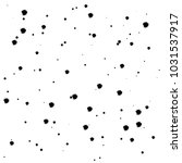 hand drawn chaotic dots  spots... | Shutterstock .eps vector #1031537917