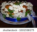 a wedding cake | Shutterstock . vector #1031538175