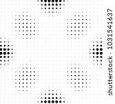 abstract grunge grid polka dot... | Shutterstock .eps vector #1031541637