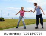 active lifestyle people and... | Shutterstock . vector #1031547739