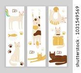 cats vector banner concept ... | Shutterstock .eps vector #1031549569