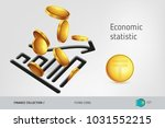 statistic chart icon with...   Shutterstock .eps vector #1031552215