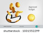 rounded check mark icon with...   Shutterstock .eps vector #1031552299