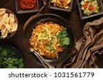 nasi goreng jawa. the popular... | Shutterstock . vector #1031561779