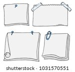 vector illustration of a set of ... | Shutterstock .eps vector #1031570551