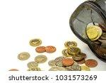 top view and crop of british... | Shutterstock . vector #1031573269
