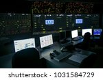 lock control panel of nuclear... | Shutterstock . vector #1031584729