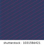 isometric grid. vector seamless ... | Shutterstock .eps vector #1031586421