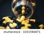 pills in capsules | Shutterstock . vector #1031586871