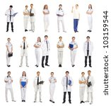 Many Different Medical Workers...