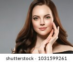 woman beauty healthy skin and... | Shutterstock . vector #1031599261