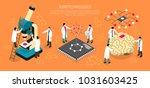 nano technologies isometric... | Shutterstock .eps vector #1031603425
