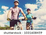 fitness  sport  people and... | Shutterstock . vector #1031608459