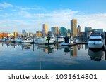 downtown city skyline  inner... | Shutterstock . vector #1031614801